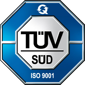 Certified according to DIN ISO 9001:2015